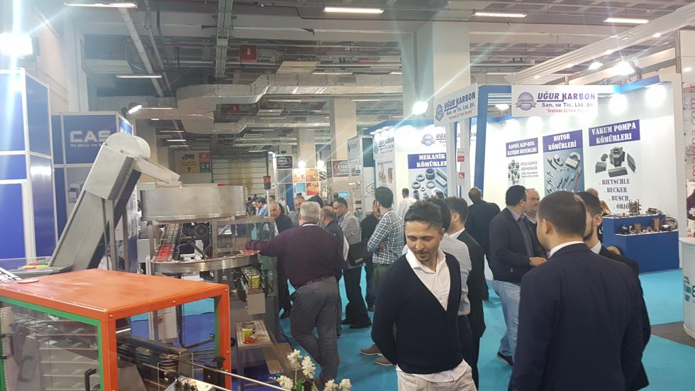 Food-Tech Eurasia 2017 Tüyap Fuarı
